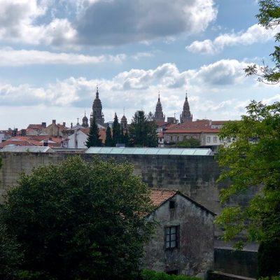 a glimpse of Santiago