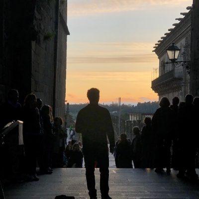 opera at sunset - bliss